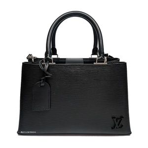 Louis Vuitton Kleber Pm Black Epi Crossbody Bag